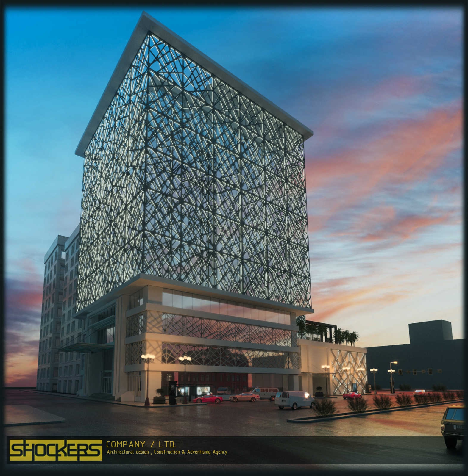 Building Exterior Design - Sulaymaniyah, Kurdonia Towers - Shockers